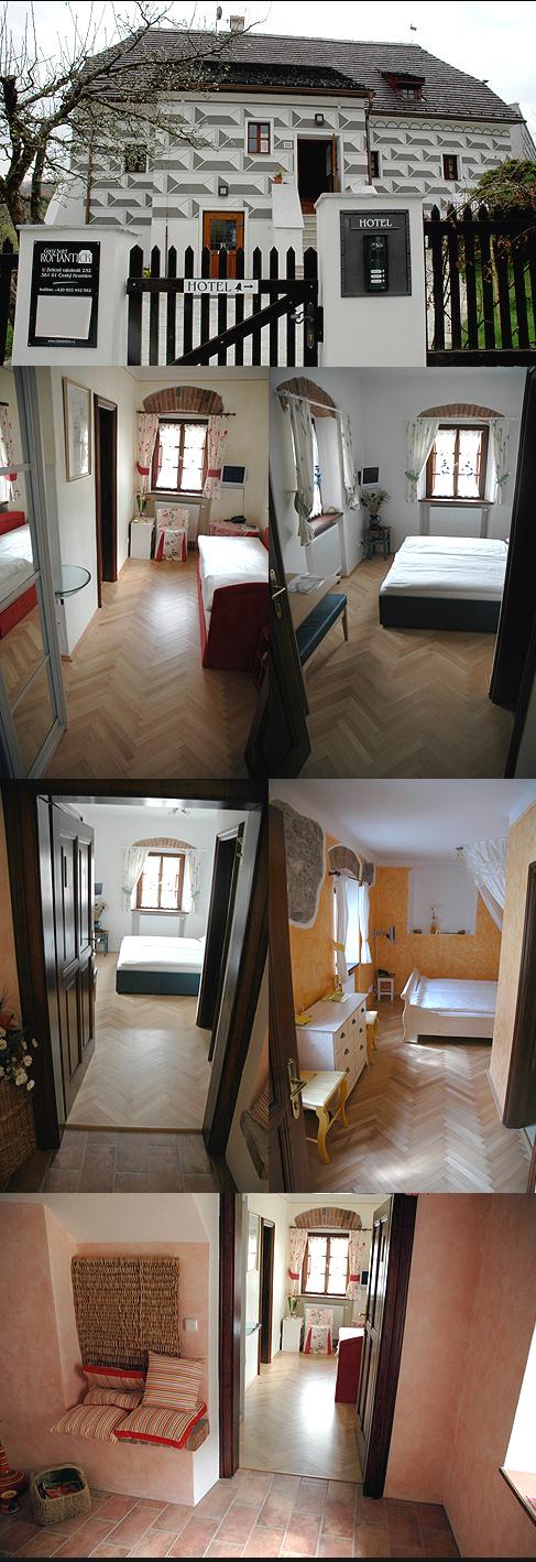 Penzion Romantick Č. Krumlov - 410 m2