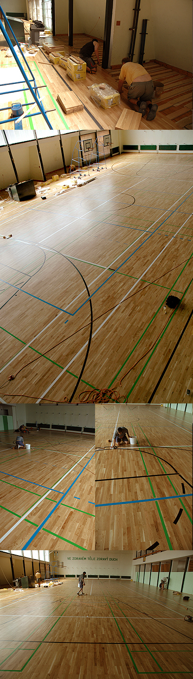 Sportovní hala Netolice - 810 m2