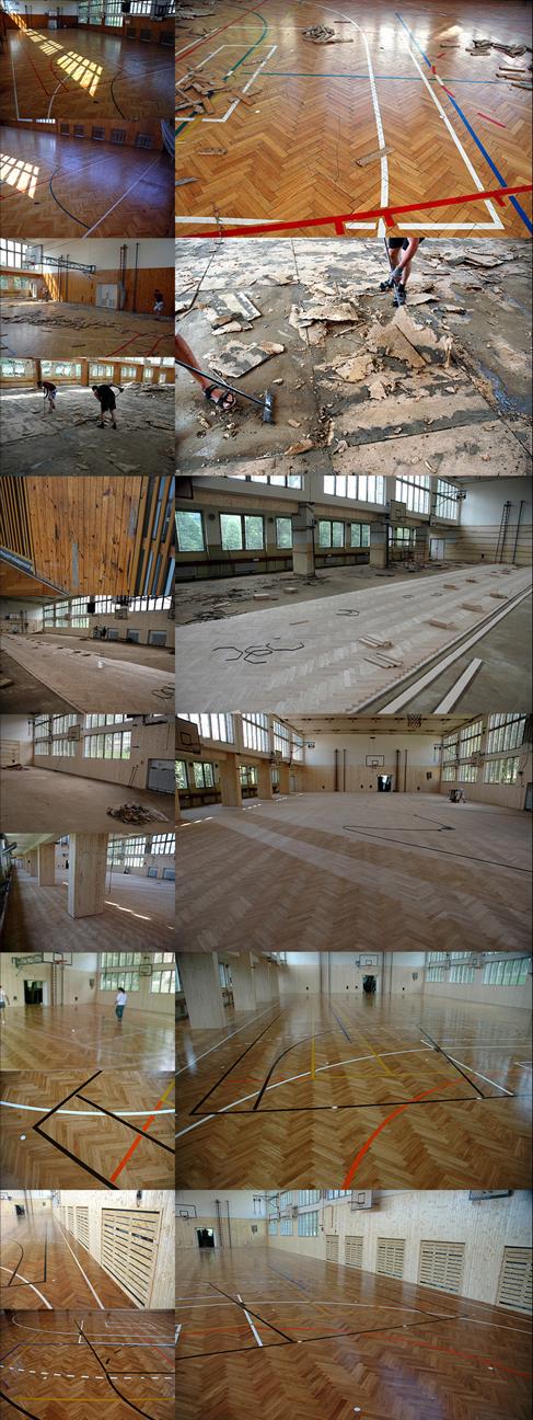 Tělocvična Vimperk - 1050 m2