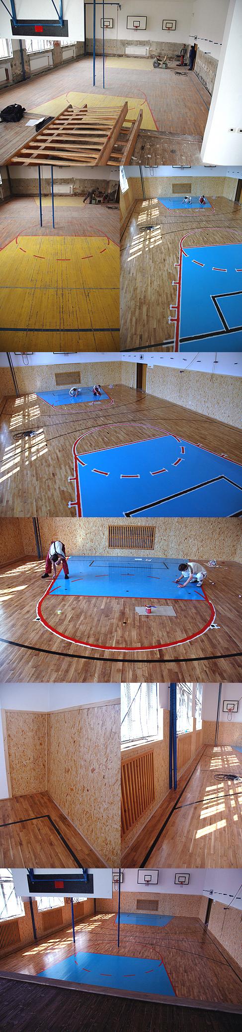 Tělocvična Vimperk - 220 m2