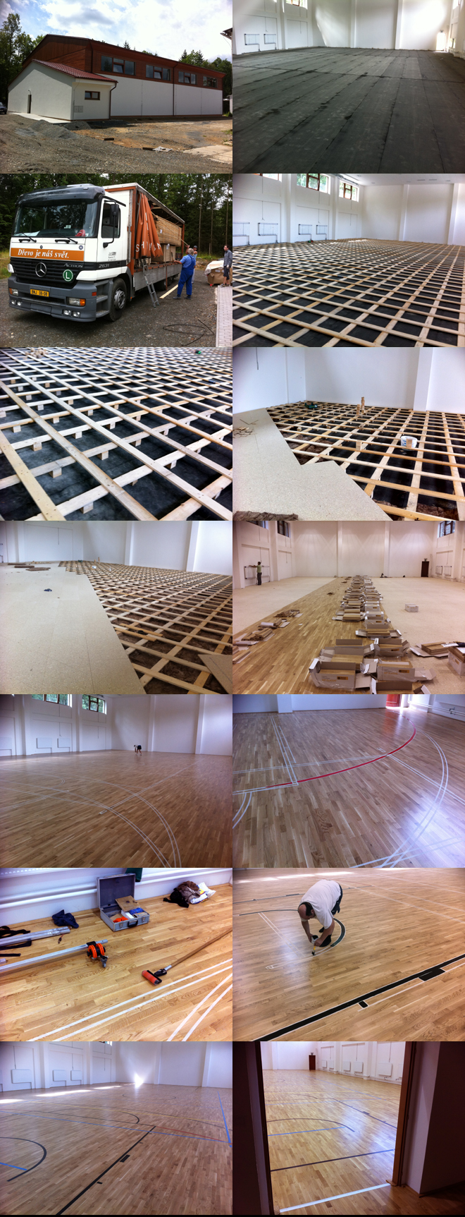Sportovní hala SOUL Křivoklát - 560 m2